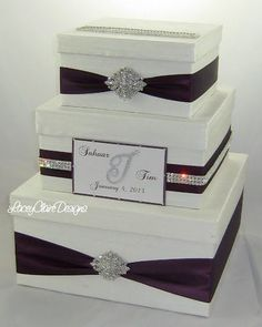 Wedding Card Box Reception Card Holder Bridal Shower Card Box Custom ...