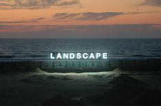 Landscape  Fluorescent light installation  1400 cm long (46 feet), 2011