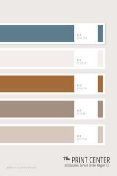 Use these colors to make your project standout! Bring your design ideas and print jobs to us: The Print Center at ESC Region 12 in Waco, Texas. Pantone Colour Palettes, Pastel Colour Palette, Colour Pallette, Colour Schemes, Pantone Color, Color Combos, Color Patterns, Print Center, Color Swatches