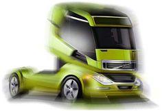 ogle-concept-truck Future Trucks, Nissan Leaf, American Motors, Truck Design, Cadillac Escalade, Automotive Design, Concept Cars, Volvo, Super Cars