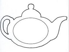 teapot outline - Google Search