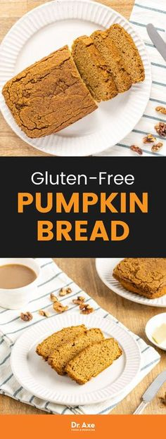 This gluten-free pumpkin bread recipe is soft, sweet and super satisfying. The fluffy texture melts in your mouth and has a rich nutty and pumpkin flavor. It's also Paleo-approved!