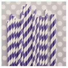 paille a rayure violet blanche pailles rayees violettes decoration mariage violet