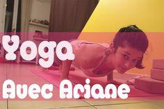 Cours de Yoga gratuits en ligne pour débutants avec Ariane. Enfin des vidéos en français pour se mettre au Yoga en direct de chez soi! Yoga Pilates, Yoga Moves, Yoga Gym, Relaxation Meditation, Relaxing Yoga, Sup Yoga, Yoga Tips, Yoga Videos, Yoga Exercises