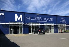 Store Front Signage For Millers Home.