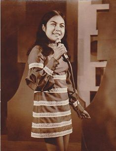 """young image NORA AUNOR *Aunor was born in Baryo San Francisco, Iriga, Camarines Sur to Antonia Cabaltera and Eustacio Villamayor * a Filipino actress, recording artist, and film producer. Aunor has also appeared in several stage plays, television shows, and concerts *She is known as Philippine cinema's """"Superstar"""" and is regarded as the People's National Artist. """"The Hollywood reporter"""" magazine, called her """"The Grand Dame of Philippine Cinema"""" for her brilliant performance in the movie… Nora Aunor, Stage Play, The Hollywood Reporter, Call Her, Filipino, Concerts, Vintage Photos, Philippines, Superstar"""