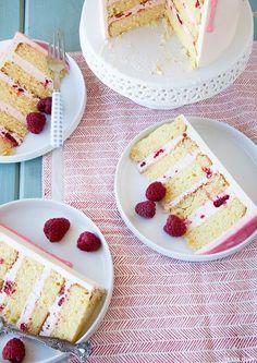 Raspberry Citrus Cake
