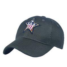 07633b92a1d61 red star male summer new arrival sunbonnet baseball cap mesh breathable  quick drying cap sun hat sport casual man casquette boy-in Baseball Caps  from Men s ...