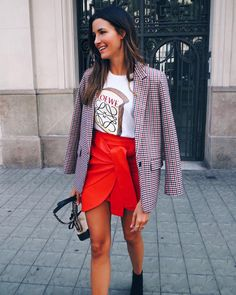 Loewe's toast T shirt is all over Instagram –The designer logo T-shirt that's rivalling Gucci's Girls Time, Slogan Tee, Celebs, Celebrities, Cool Bands, Leather Skirt, Celebrity Style, Graphic Tees, Logo Design