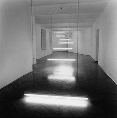 Lichttreppe (Light Steps) | Brigitte Kowanz