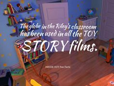 inside out fun facts toy story globe