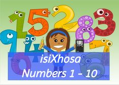 isixhosa numbers 1 to 10 Numbers 1 10, Projects To Try, Illustration, Poster, Illustrations, Posters, Billboard