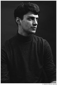 Matthew Bell by Erion Hegel Kross Male Profile, Profile Photo, Matthew Bell, Portrait Photography Men, Men Photoshoot, The Secret History, Monochrom, Medieval Fantasy, Face Claims