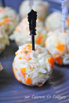 Cuisinons en Couleurs: Boulettes apéritives au surimi