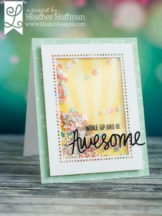 2 pks of 6 TREAT CUPS shaker cards Sue Wilson Creative Expressions as seen on tv