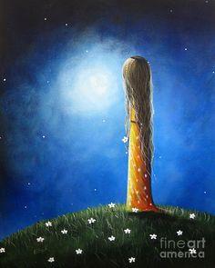 Pretty Painting - Blue Skies Ahead By Shawna Erback by Shawna Erback