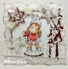 DeeDee´s Card Art - Christmas Eve Tilda