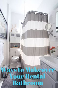 8 Bathroom Bettering Ideas You Can Do (When You Can't Renovate Your Rental)