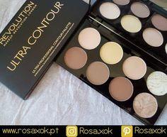 RosaXok: Makeup Revolution Ultra contour - Paleta de contor...