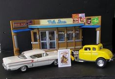 American Graffiti, Teen Movies, Hot Rods, Toys, Car, Activity Toys, Automobile, Cars, Games