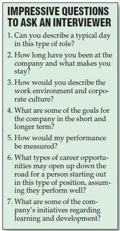 Resume Tips : Great Questions to ask the interviewer during a job interview. Still feeling a little rusty on the whole job searching process? No problem. GO Charleston Deals has a great deal on Interview Coaching just for you! Job Interview Questions, Job Interview Tips, Job Interviews, Interview Coaching, Interview Techniques, Teaching Interview, Preparing For An Interview, Job Interview Makeup, Job Interview Preparation