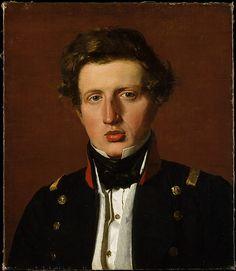 Christen Købke   Valdemar Hjartvar Købke (1813–1893), the Artist's Brother   The Met