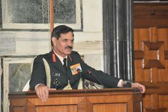 Gen Dalbir Singh #COAS addressed officers of Army HQ; exhorted all for continued committment to overcome http://challenges.pic.twitter.com/SofjxARxof #IndianArmy #Army