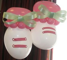 Baby Balloon Bootie Cuties for girls