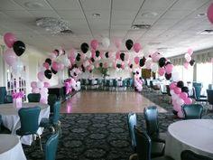 diy balloon centerpiece   BalloonsNJ.com Balloon Decorations - Balloons NJ, Sweet 16 Balloons ...