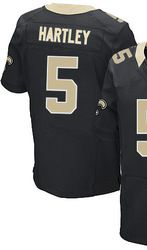 476b6192d  78.00--Garrett Hartley Jersey - Nike Elite Stitched Black Home New Orleans  Saints  5 Jersey