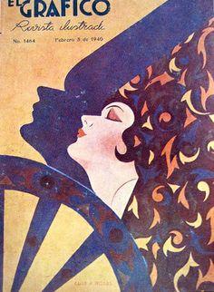 gatochy art | Luis Rosas, El Grafico, February 1940 by Gatochy