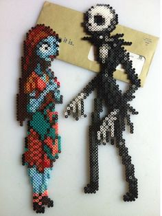 The Nightmare Before Christmas perler beads