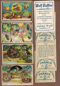 Vintage Victorian Trade cards  issued 1900's by Printvilla4you