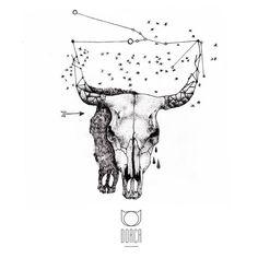 Taurus by Dorca (Fatum Tattoo)