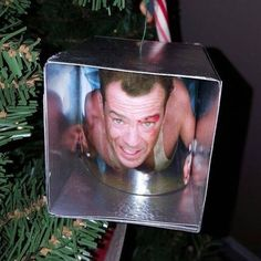 "StanWinstonSchool on Instagram: ""Low-budget practical effects! The best Christmas ornament ever. #YippeeKiYay #DieHard #Christmas #Ornament"""