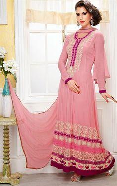Tranquil Rose Pink Color Salwar Kameez for Wedding
