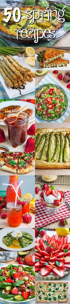 50 Spring Recipes - Love me some Kevin of Closet Cooking. The man has a gift for creating delicious food!