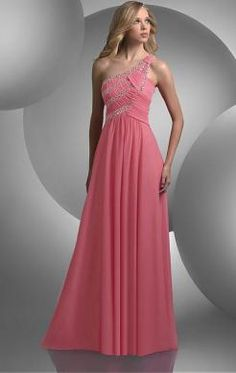 Simple Long Pink Tailor Made Evening Prom Dress (LFNAL0434) http://www.marieprom.co.uk/pink-prom-dresses-uk