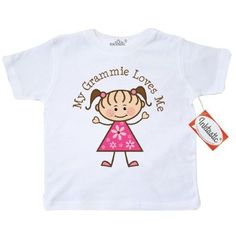 Clothing, Shoes & Accessories Tops & T-shirts Inktastic Mawmaw Loves Me Grandson Gift Youth T-shirt Childs Boys Girls Cute Tee Aromatic Flavor