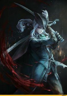BloodBorne,Игры,game art,Lady Maria