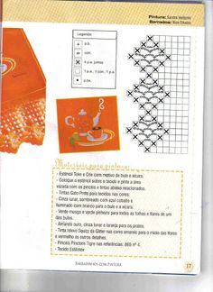 Crochê - Barradinhos de Crochê com Pintura - 37 - Elaine Cristini - Álbuns da web do Picasa