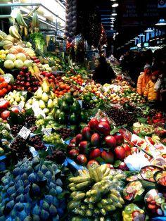 Barcelona Food Market by JacquiJSB, via Flickr