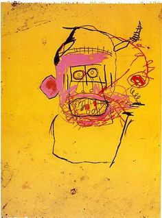 Jean-Michel Basquiat #art #yellow