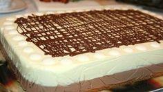 Tříbarevné domácí řezy s luxusní chutí připravené za 20 minut! - Vychytávkov Cooking Cake, Mini Cheesecakes, Sweet Tarts, Sweet Desserts, International Recipes, Nutella, Deserts, Food And Drink, Treats