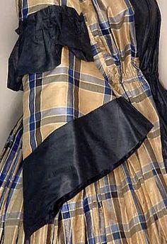 silk wrapper sleeve cotton  civil war era fashion