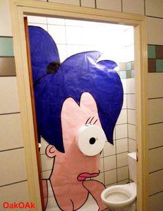 #bathroom #futurama #geek