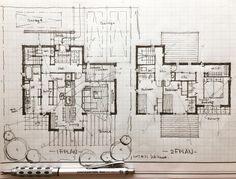 "1,188 Likes, 9 Comments - 石川 元洋/一級建築士 (@motohiro_ishikawa) on Instagram: ""・ Floor plan .…"""