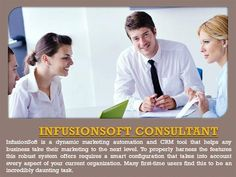Infusionsoft Consultant by InfusionsoftExperts via authorSTREAM