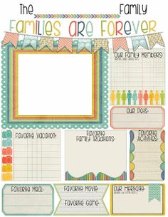 """LDS PRIMARY SPOTLIGHT """"Families are Forever"""" by Vintage Lace Designs"""