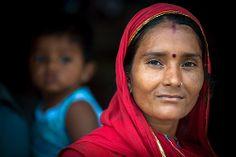 #34 Women Faces: Proud to be an Indian woman   Ranakpur Village   India https://www.flickr.com/photos/travelife/13575383283/ © Daniele Romeo Photographer https://www.facebook.com/PeopleFaces https://plus.google.com/+PeopleFacesCommunity